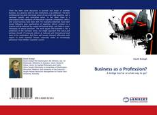 Bookcover of Business as a Profession?