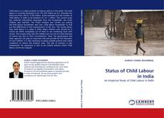 Bookcover of Status of Child Labour in India