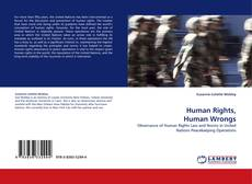 Capa do livro de Human Rights, Human Wrongs