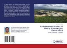 Обложка Socio-Economic Impact of Mining Transnational Corporations