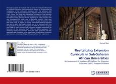 Bookcover of Revitalizing Extension Curricula in Sub-Saharan African Universities