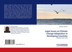 Capa do livro de Legal Issues on Climate Change Adaptation in Developing Countries