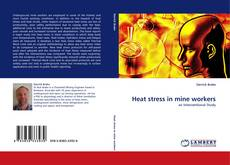 Bookcover of Heat stress in mine workers