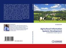 Bookcover of Agricultural Information Systems Development