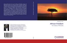 Bookcover of African Freedom