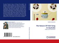 Capa do livro de The Nature Of Folk Song In Australia