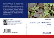 Bookcover of Care management after brain injury