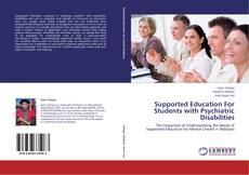 Bookcover of Supported Education For Students with Psychiatric Disabilities