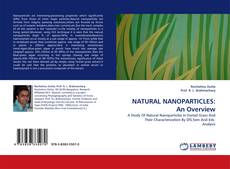 NATURAL NANOPARTICLES: An Overview kitap kapağı