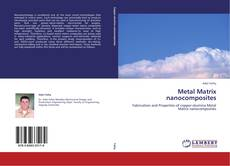 Bookcover of Metal Matrix nanocomposites