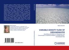 Capa do livro de VARIABLE-DENSITY FLOW OF GROUNDWATER