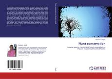 Bookcover of Plant conservation