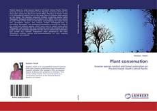Обложка Plant conservation