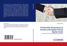 Обложка Partnership Governance in Finnish and English Private Equity Funds