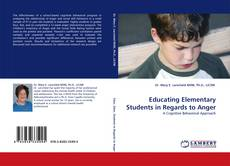Portada del libro de Educating Elementary Students in Regards to Anger