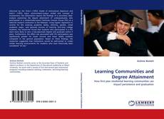 Buchcover von Learning Communities and Degree Attainment