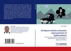Bookcover of On-Board vehicle emissions measurement of hydrocarbons
