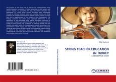 Capa do livro de STRING TEACHER EDUCATION IN TURKEY