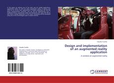Capa do livro de Design and implementation of an augmented reality application