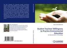 Обложка Student Teachers' Willingness to Practice Environmental Education
