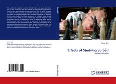 Bookcover of Effects of Studying abroad