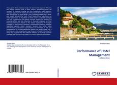 Bookcover of Performance of Hotel Management