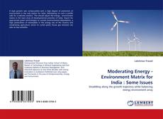 Capa do livro de Moderating Energy - Environment Matrix for India : Some Issues