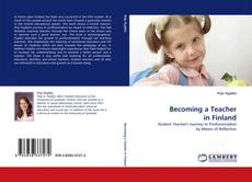 Bookcover of Becoming a Teacher in Finland