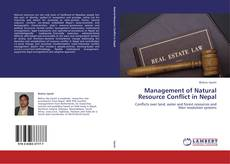Bookcover of Management of Natural Resource Conflict in Nepal