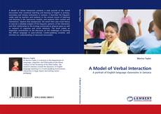 Bookcover of A Model of Verbal Interaction