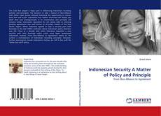 Обложка Indonesian Security A Matter of Policy and Principle