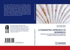 Обложка A PARAMETRIC APPROACH TO BIOMIMESIS