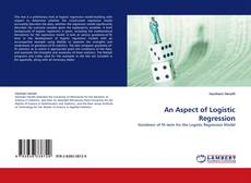 Buchcover von An Aspect of Logistic Regression