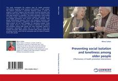 Buchcover von Preventing social isolation and loneliness among older people