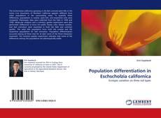 Bookcover of Population differentiation in Eschscholzia californica