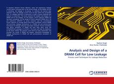 Bookcover of Analysis and Design of a DRAM Cell for Low Leakage