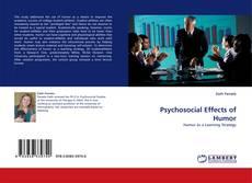 Psychosocial Effects of Humor的封面