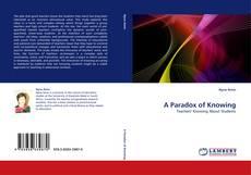 A Paradox of Knowing kitap kapağı