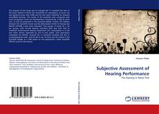 Bookcover of Subjective Assessment of Hearing Performance