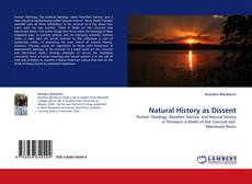 Bookcover of Natural History as Dissent