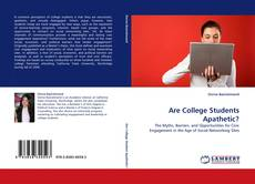 Bookcover of Are College Students Apathetic?