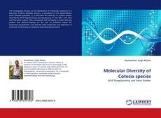 Copertina di Molecular Diversity of Cotesia species