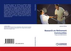 Bookcover of Research on Retirement Communities