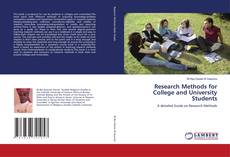 Borítókép a  Research Methods for College and University Students - hoz