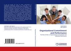 Buchcover von Organizational Commitment and Performance