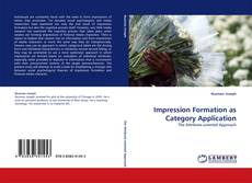 Bookcover of Impression Formation as Category Application