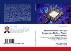 Bookcover of Bidirectional DC Voltage Conversion for Low Power Applications