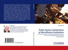 Bookcover of Public Equity Capitalization of Microfinance Institutions