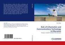 Capa do livro de Role of Information and Communications Technology in Education