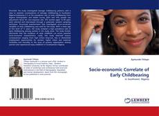 Capa do livro de Socio-economic Correlate of Early Childbearing